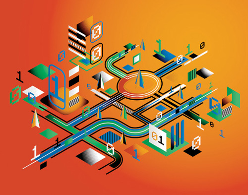 How to Create an Abstract Isometric Cityscape in Adobe Illustrator