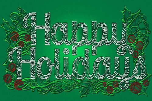 How to Create a Paper Quill Holiday Greeting in Adobe Illustrator