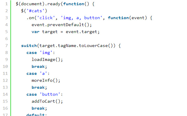 event delegation jquery tutorial open source