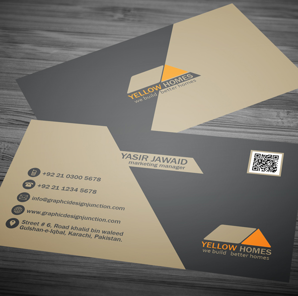 Real Estate Business Card Template - 2