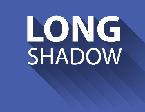 Create a Long Shadow Effect In 5 Steps or Less in Illustrator Tutorial