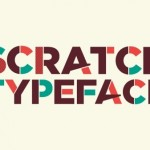 Free Font Of The Day : Scratch