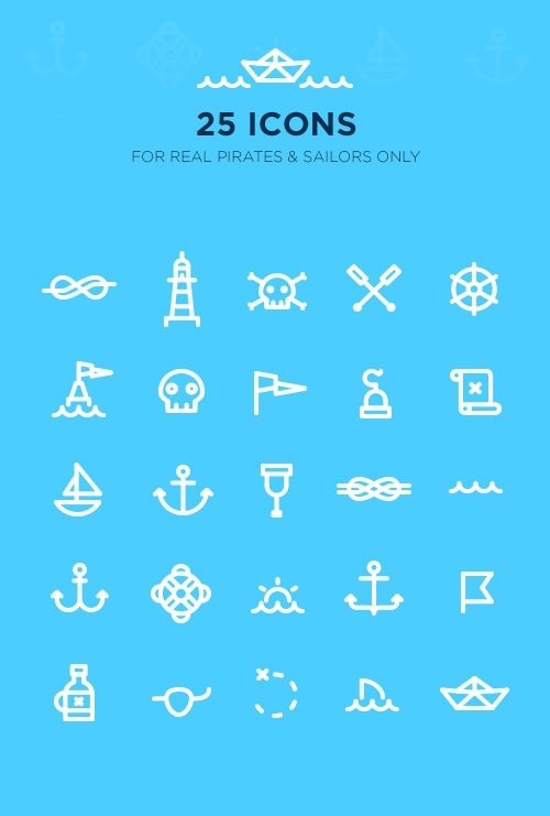 10+ Sets of Vector / Flat PSD Icons – Free Download