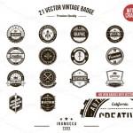 13 Vintage Logo Bundles for Your Designs