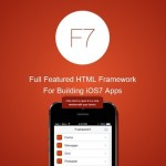 Framework7 – HTML Framework for Building iOS7 Apps