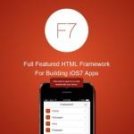 Framework7 – HTML Framework for Building iOS7 Apps