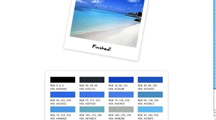 palette for chrome browser addon