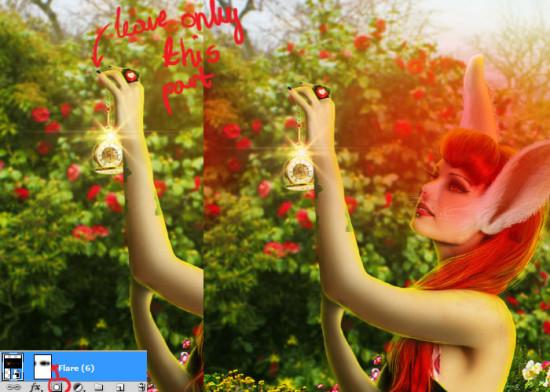 photo manip alice in wonderland 68 550x392 Create Photo Manipulation with Alice in Wonderland Theme in Photoshop