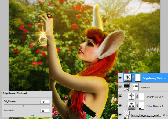 photo manip alice in wonderland 69 550x392 Create Photo Manipulation with Alice in Wonderland Theme in Photoshop