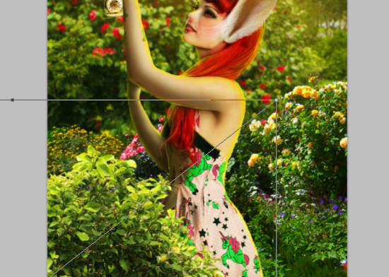 photo manip alice in wonderland 62 550x392 Create Photo Manipulation with Alice in Wonderland Theme in Photoshop
