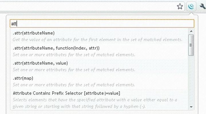 jquery api browser extension chrome