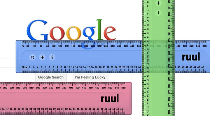 ruul extension ruler measuring browser chrome
