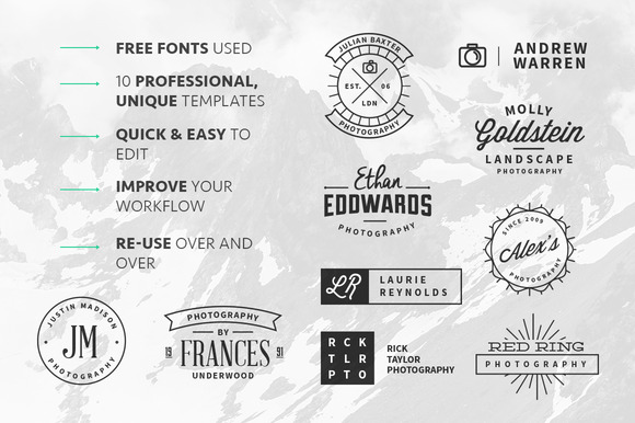 cm5 f1 13 Vintage Logo Bundles for Your Designs