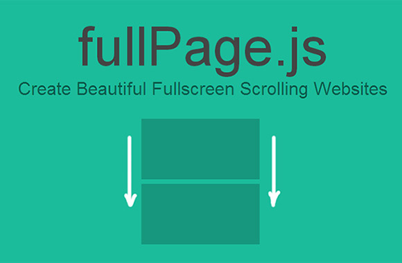 fullPage.js – Fullscreen scrolling pages