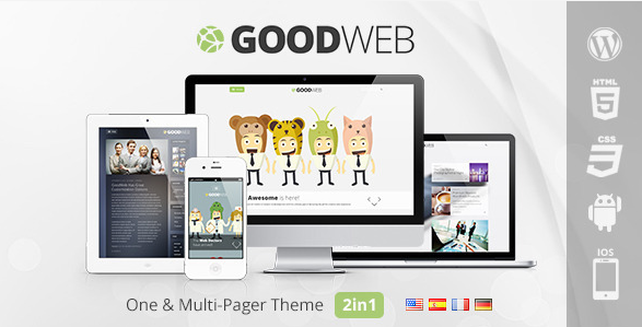 flat wordpress theme for business 6