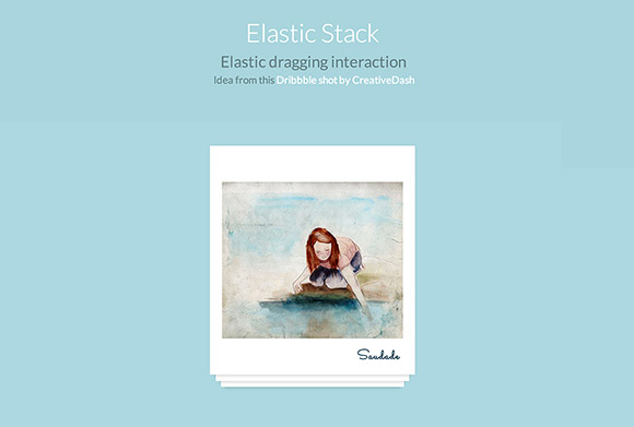 ElastiStack – JS dragging interaction