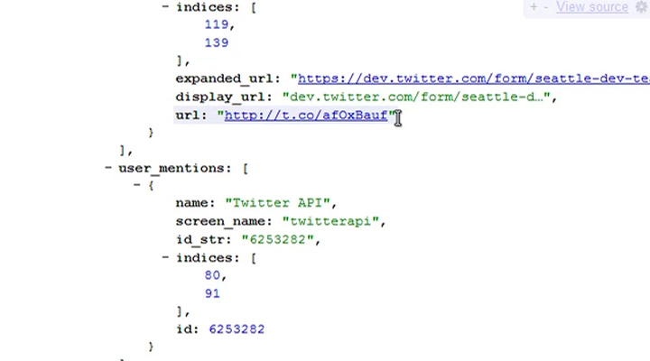 jsonview viewer json code samples extension chrome