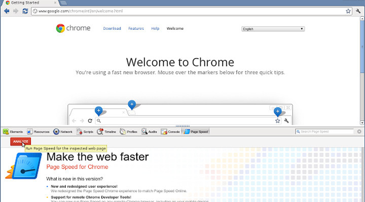 pagespeed insights extension chrome google