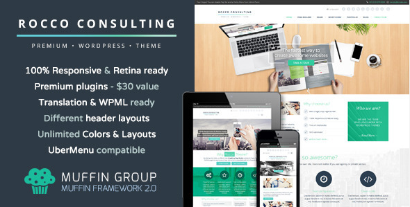 flat wordpress theme for business 9