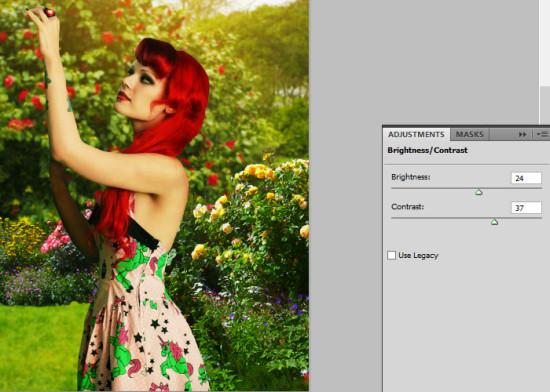 photo manip alice in wonderland 22 550x392 Create Photo Manipulation with Alice in Wonderland Theme in Photoshop