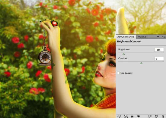 photo manip alice in wonderland 57 550x392 Create Photo Manipulation with Alice in Wonderland Theme in Photoshop