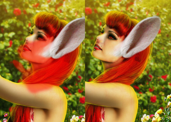 photo manip alice in wonderland 44 550x392 Create Photo Manipulation with Alice in Wonderland Theme in Photoshop