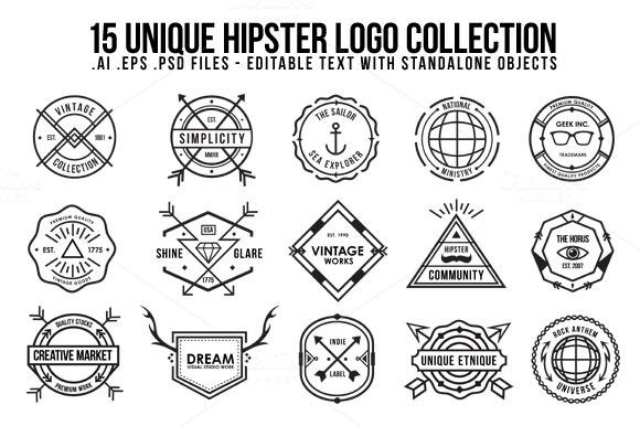 pv2 o1 13 Vintage Logo Bundles for Your Designs