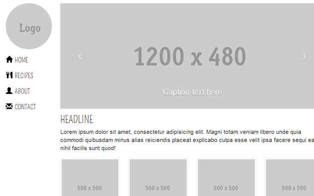 bs3 bootstrap layout css3 design