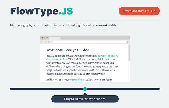 FlowType.js – Auto adjust font size plugin