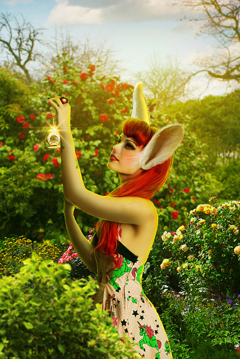 photo manip alice in wonderland final 469x700 Create Photo Manipulation with Alice in Wonderland Theme in Photoshop