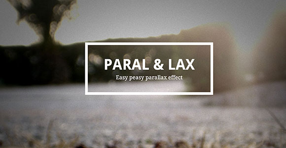 Paral & Lax – Easy parallax effect