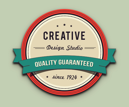 Create a Gorgeous Retro Badge in Adobe Illustrator