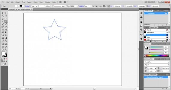 star-draw