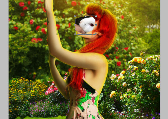 photo manip alice in wonderland 33 550x392 Create Photo Manipulation with Alice in Wonderland Theme in Photoshop