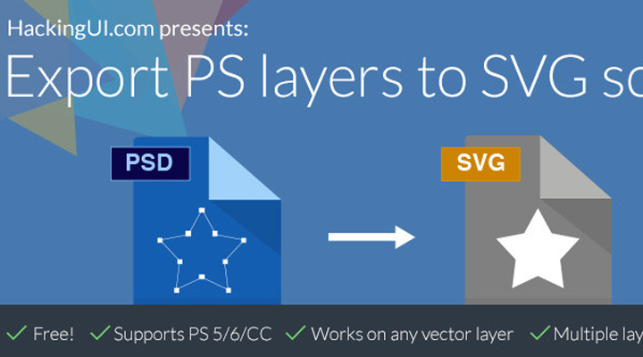 export vector layers photoshop svg