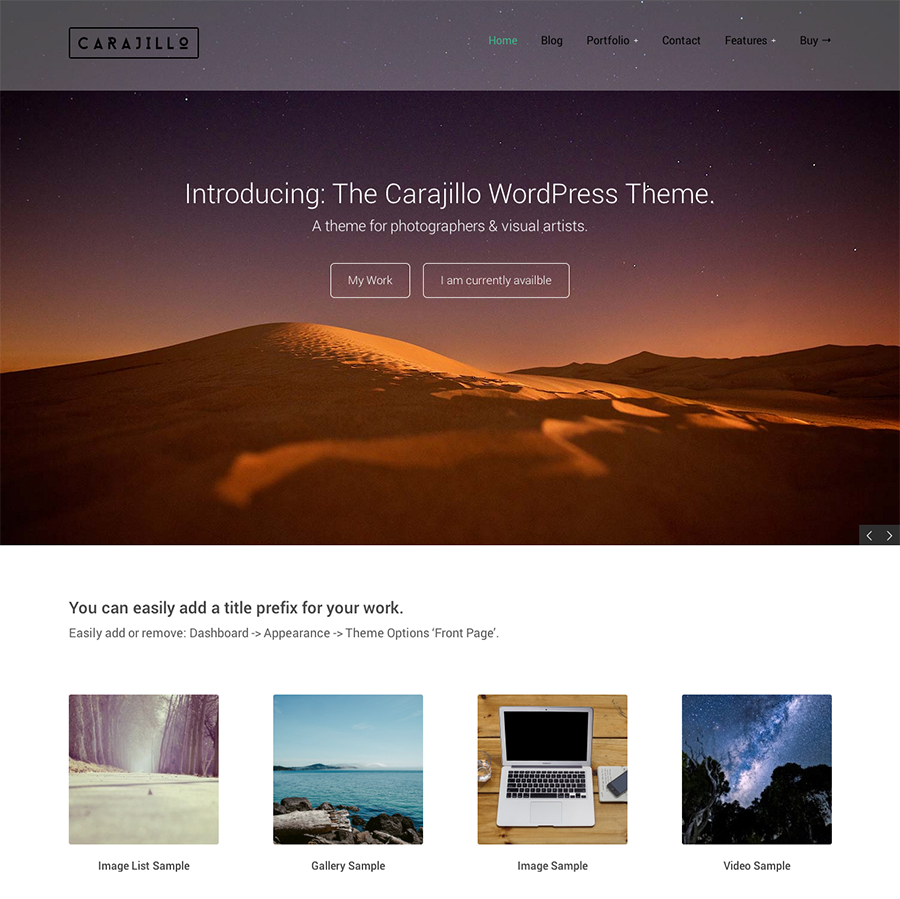 35 New Themes Perfect For Photographers