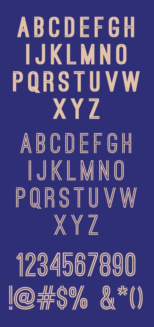 Ostrich Sans Free Typeface