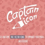 Captain Icon: Fantastic Free Set of 350+ Flat Icons in Many Formats