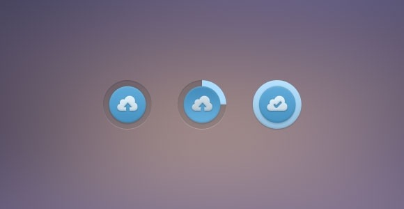 20 Best Free Buttons Designs PSDs to Download