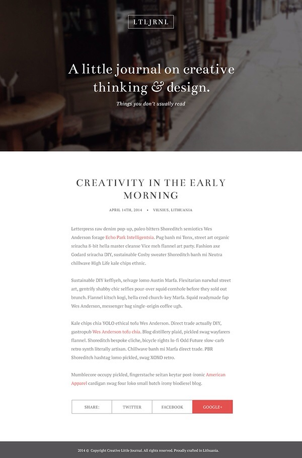 Designing an Elegant Blog Layout in Photoshop