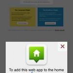 Add to Homescreen Javascript & WordPress Plugins