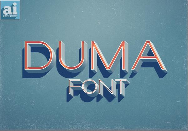 Duma Free Fonts