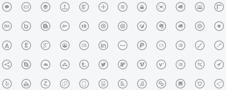 Metrize Icons is A Metro-Style free icon fonts with 300 Icons