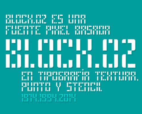 Block.02 Free Fonts