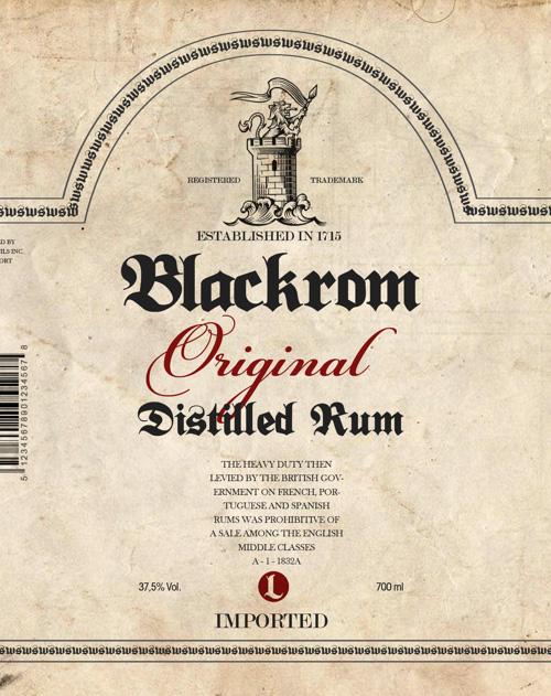 Blackrom Free Fonts