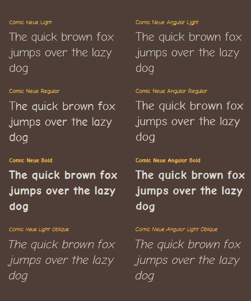 Comic Neue Free Typeface