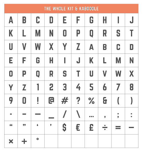 Norwester Free Typeface