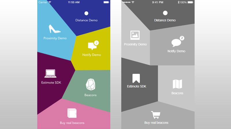 Estimote UI Design