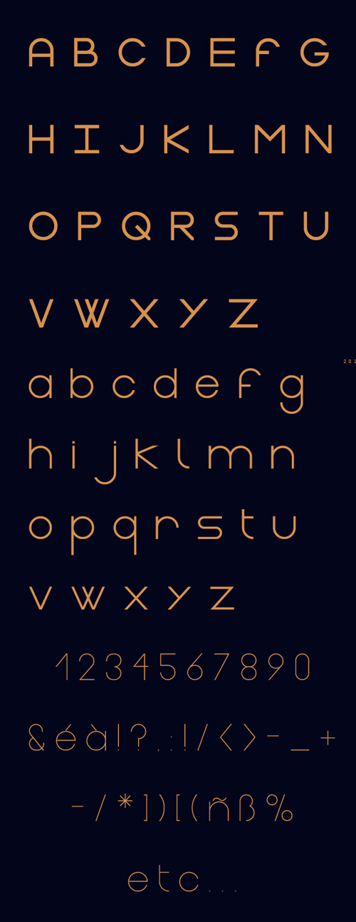Gasalt Free Typeface