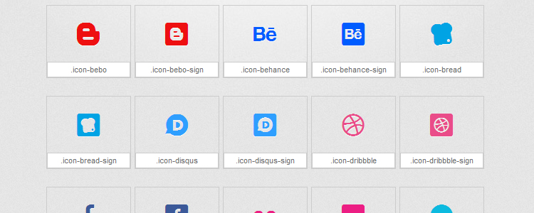 Mono Social is An Icon Font Based on the Mono Social Icon Set with 100 Icons
